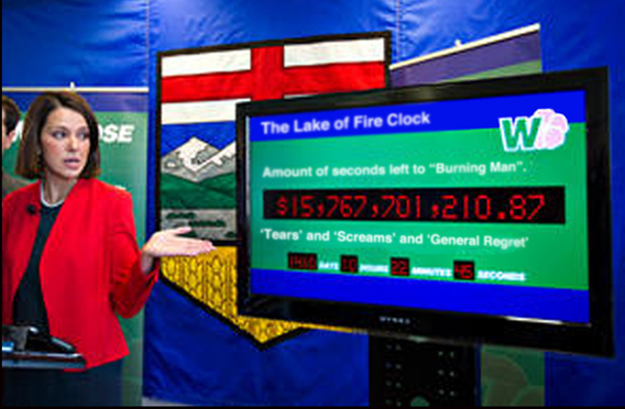 Lake Of Fire Countdown Clock