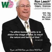 Ron Leech - Wild Rose Party candidate