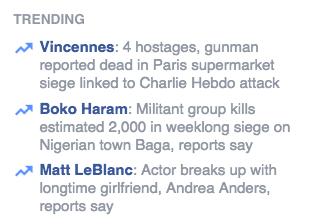 Facebook Trending 01/09/2015